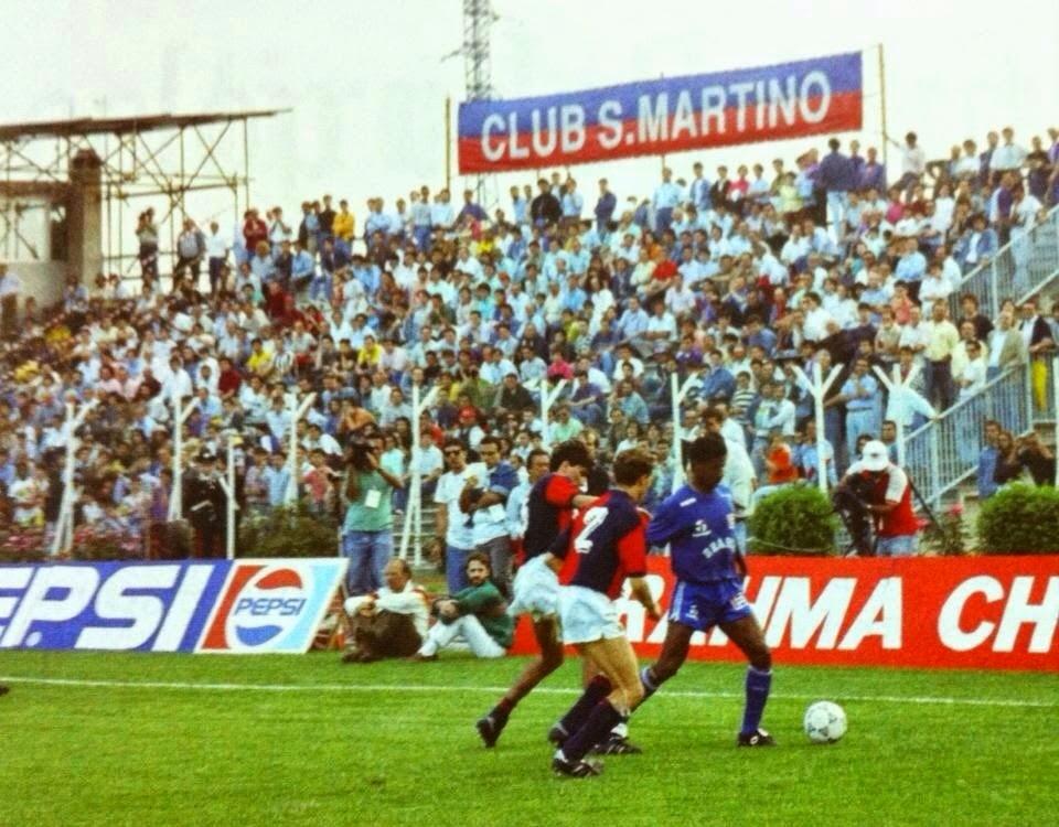 Nel 1990 il Brasile giocò due partite in Umbria. Ne vinse una e perse l'altra