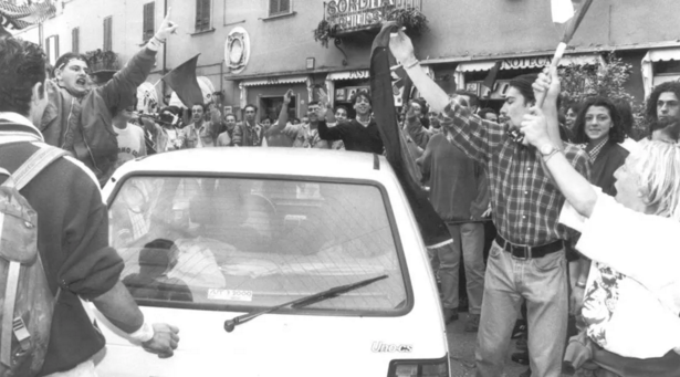Risultati immagini per 6 aprile 1994 pontedera italia