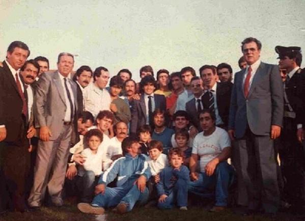 Maradona aveva un feeling particolare con la città di Giugliano