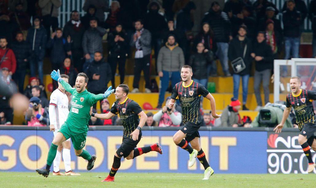 Benevento fa la storia: il gol del portiere vale il primo punto contro il Milan