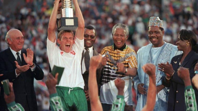 Il trionfo dei Bafana Bafana