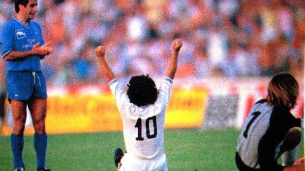 Il primo gol italiano su azione