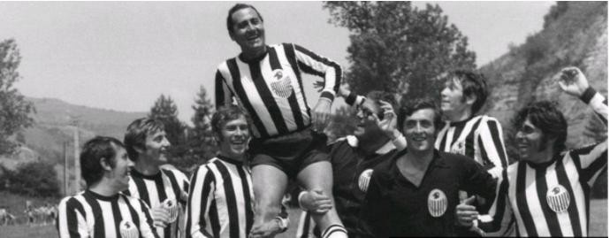 Il Borgorosso, calciatori trasformati in attori
