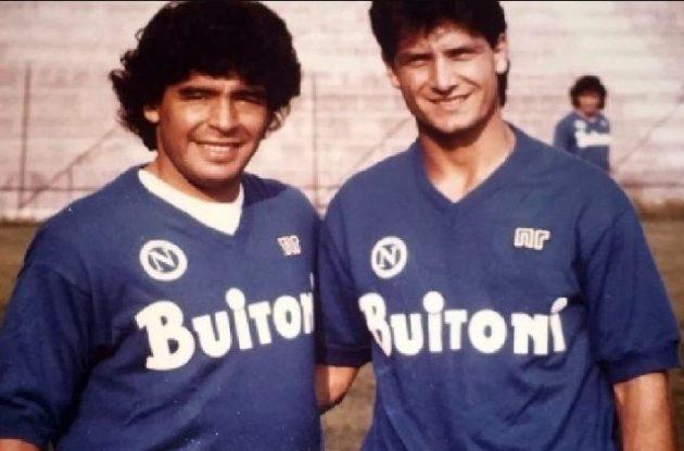 Sognava di diventare il capitano del Napoli, ma c'era Maradona