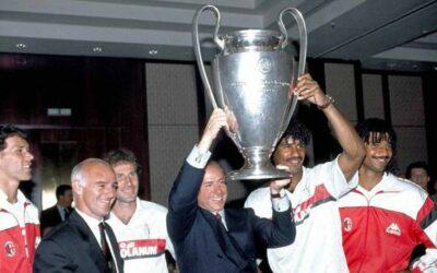Quando Berlusconi decise che la Coppa dei Campioni gli stava stretta