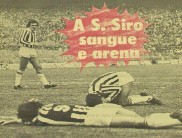 La rivalità tra Milan e Juve e quella partita del 1975